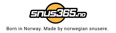 snus365.no 100% norsk snusbutikk på nett